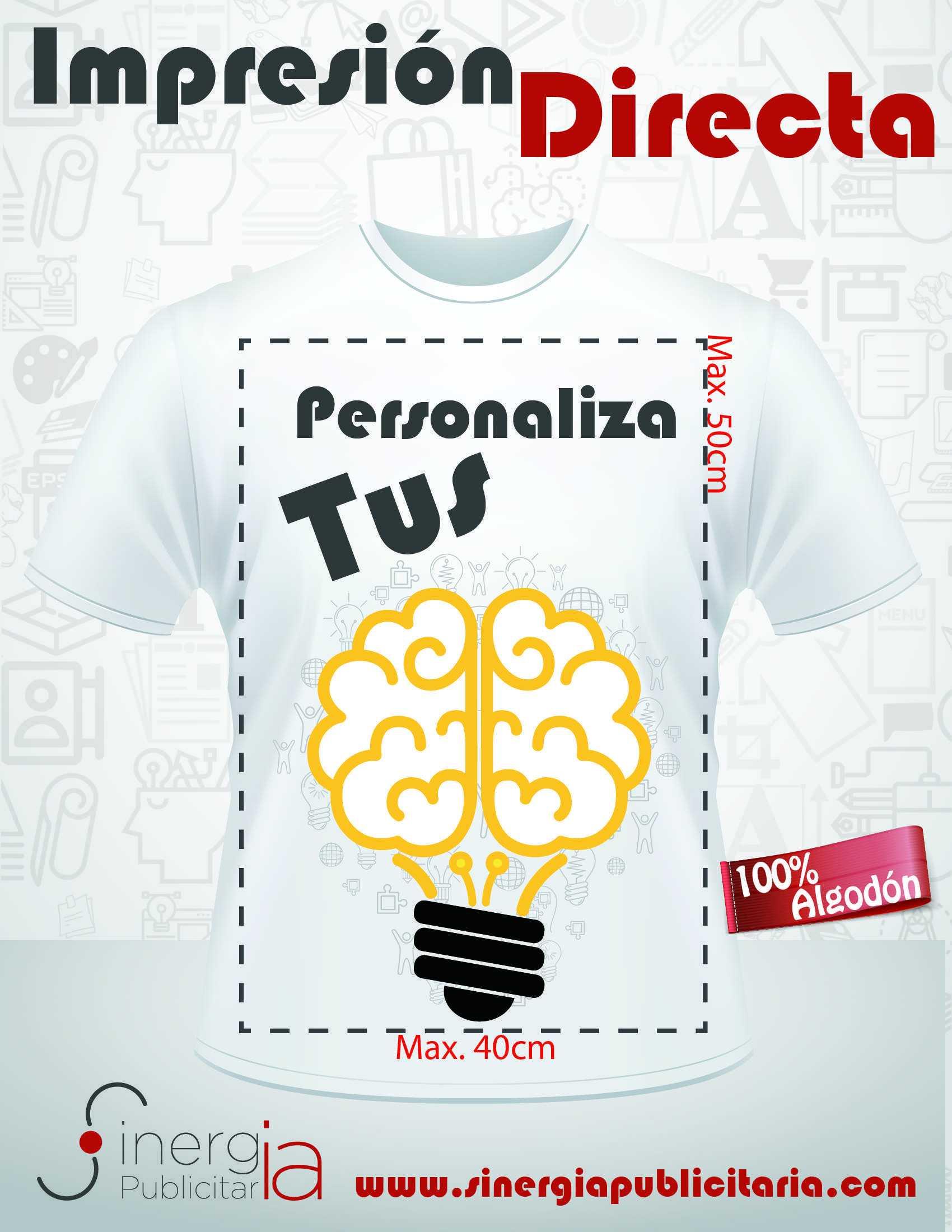 38dd58d56997b Diseña y Personaliza tus ideas! Imprime tus Playeras y Camisetas ...