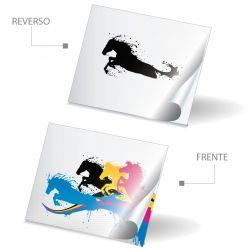 Folder Tamaño Carta Papel Sulfatada SBS 12pt 4x0 Tintas Dos Pestañas