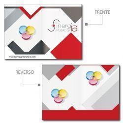 Dípticos Tamaño Carta Papel Couche 4x4 Tintas