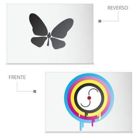 Impresión Carta Papel Opalina 4x0 Tintas
