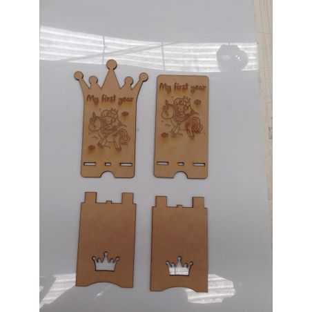 corte láser y grabado madera