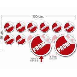 stickers estático 50x130