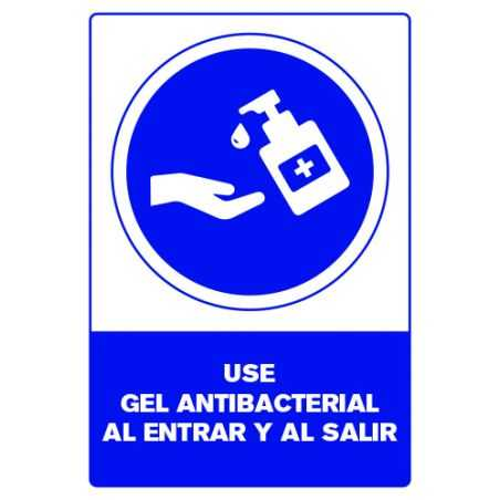 Señalética Gel Antibacterial