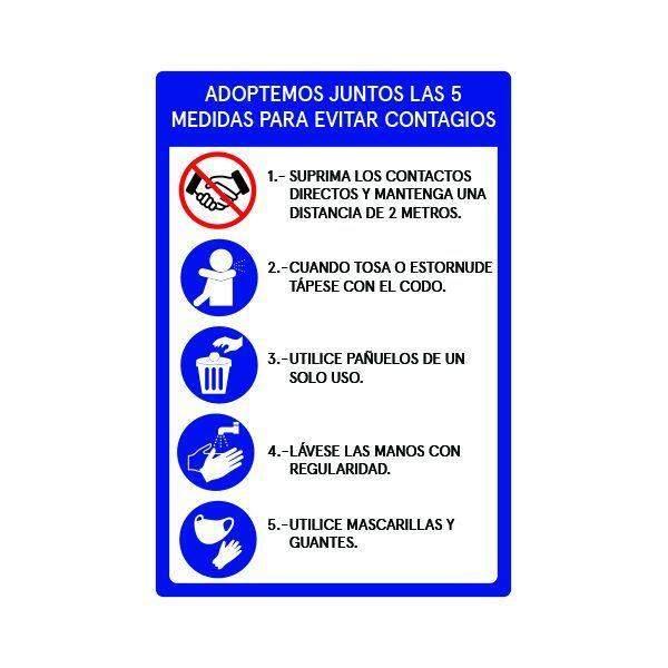 Señalética Medidas Preventivas