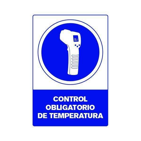 Señalética Control de Temperatura