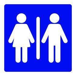 señalética baños