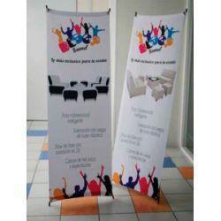 impresión en tela banner