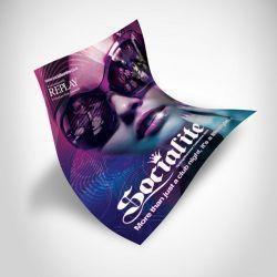 Posters en Sulfatada 12 ptos.