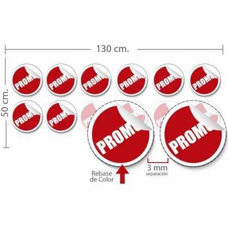 stickers estático 50x127