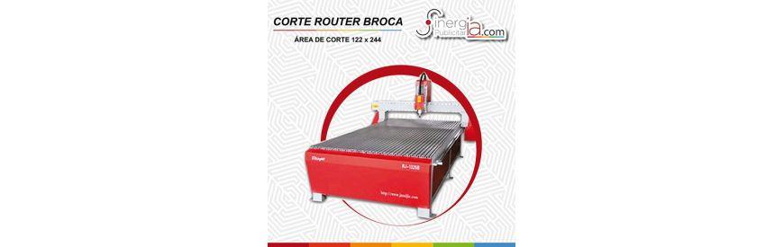 Cortes y Grabado con Router CNC en Materiales Rígidos