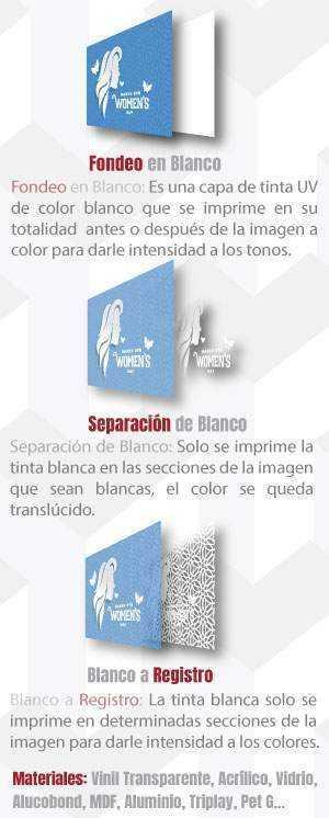 tintas blancas