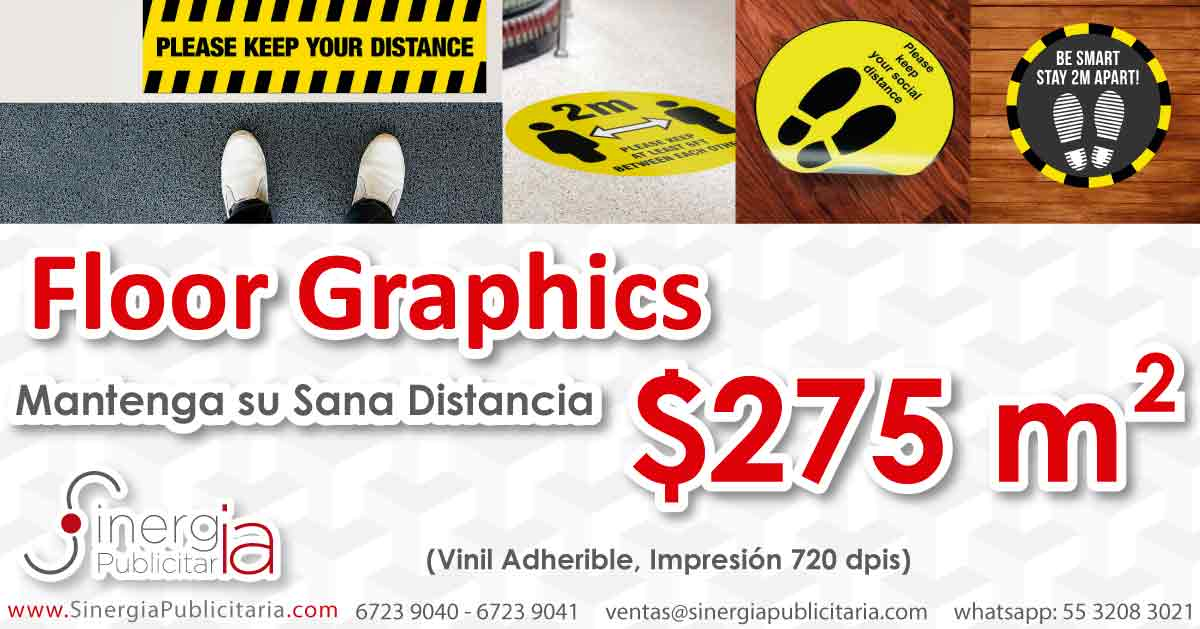 Floor Graphics 720 dpis