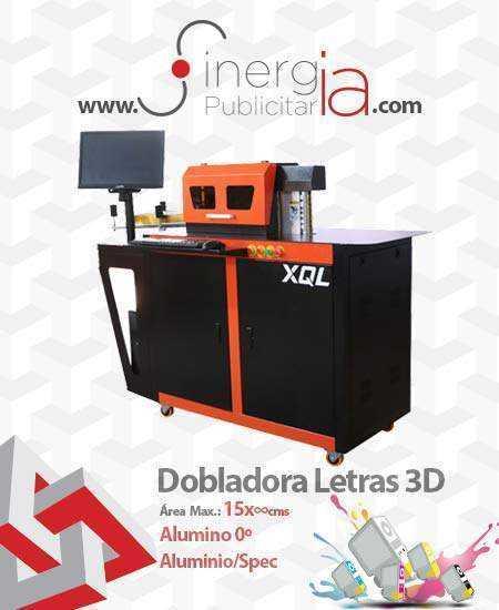 Maquila Canto Letras anuncios 3D