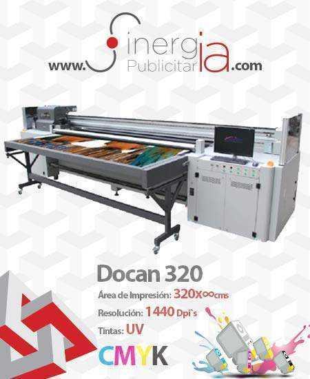 Maquila en Docan  Hibrida 320 Sinergia Publicitaria