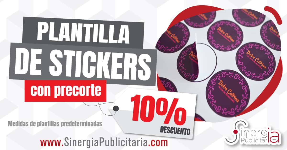 PLANTILLA DE STICKERS